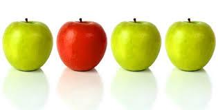 mele in fila