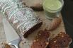 plumcake con cacao e pistacchi