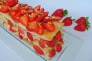 millefoglie con fragole