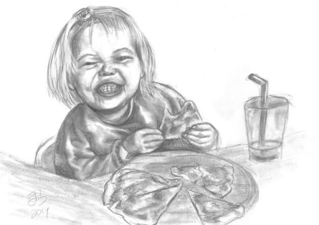 Mira cómo como pizza / Yum! Yum!