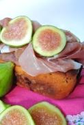 plumcake con prosciutto fichi e parmigiano